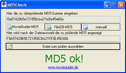MD5Check